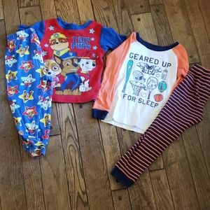 Bundle of 2 pajama sets